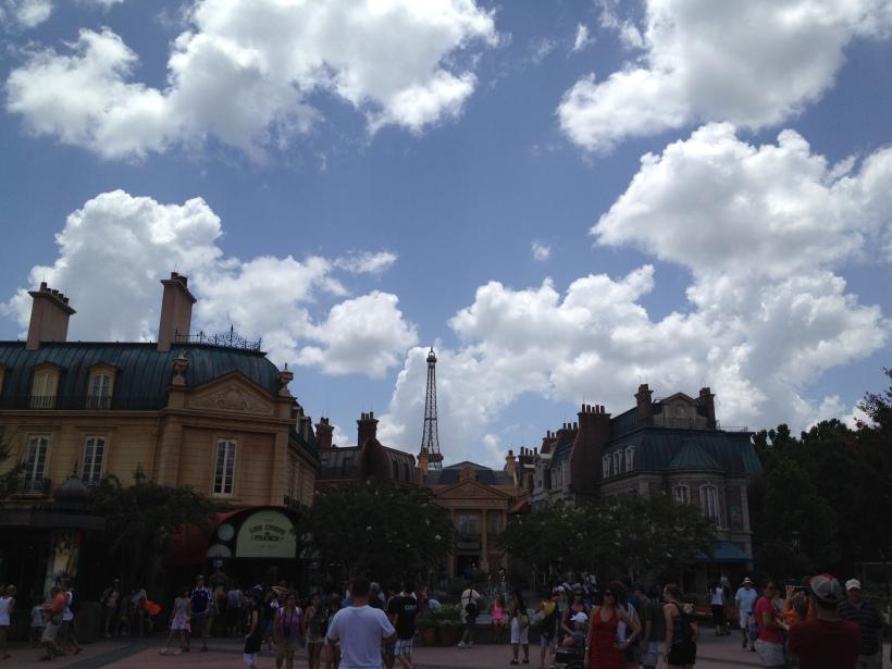 Disney's France on a sunny day!