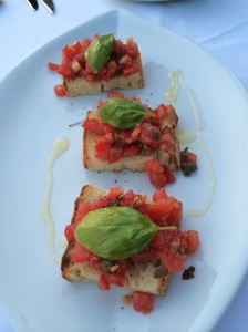Bruschetta at Il Golfo