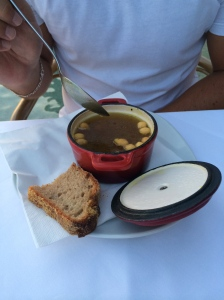 Soup at Il Golfo
