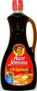 Aunt Jemima syrup is the BEST syrup for pancakes!