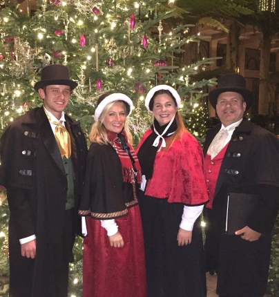 After a night of Caroling at Longwood Gardens - Kennett Square, PA