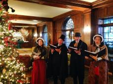 OTC singing at Sky Top Lodge in the Poconos