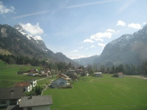 More from the train ride through the Alps, just because they're awesome!