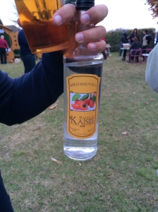 Traditional rakija is clear, unlike liqueurs