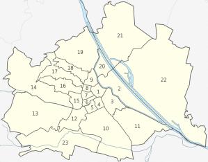 Vienna districts