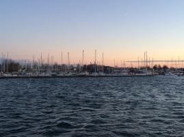 Sailing somewhere near the North Sea