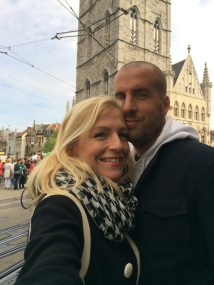 Jen and Miloš in Ghent