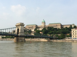 View of the Chain Bridge