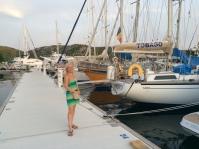 Jen in the Marina