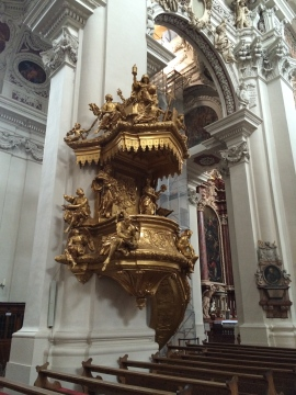 Ornate pulpit