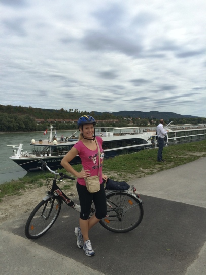 Ready to bike along the Danube!