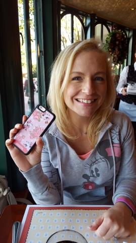 My new Disney iPhone case