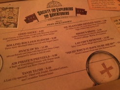 Clever menu items