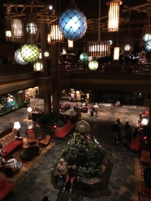 Polynesian Village - new and improved lobby