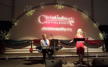 Christkindlmarkt - Jennifer Graf and Terry Musselman