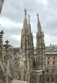 Vertical panoramic shot