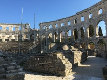 Ruins inside the Arena