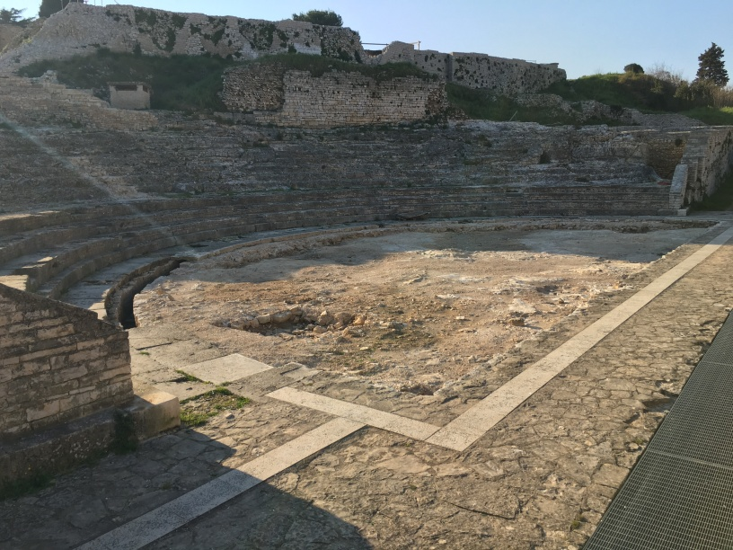 Remains of the Small Roman Theatre