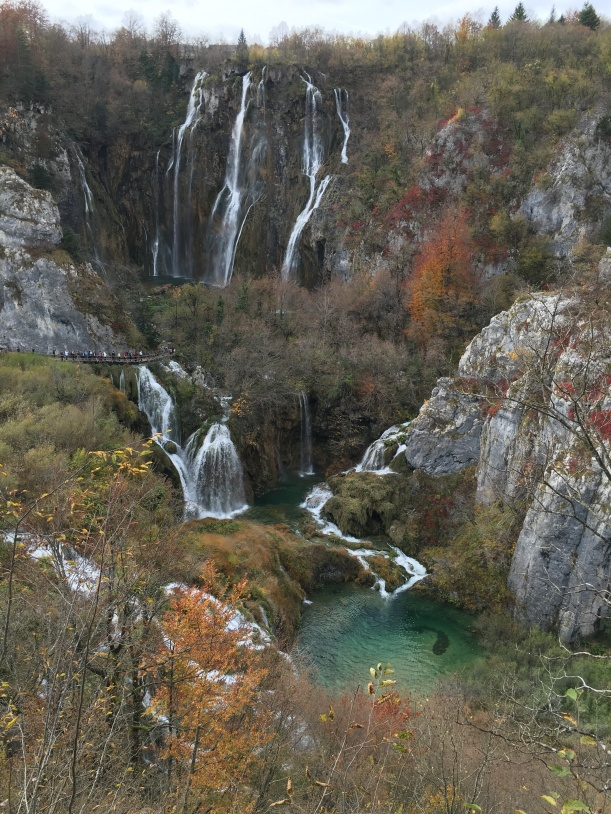 Main falls at Plitvice