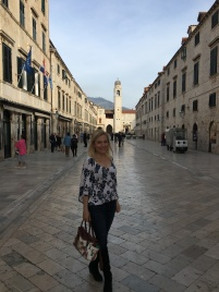 Walking along the Stradun