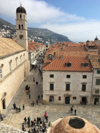 View of the Stradun from above